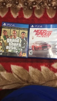 two Sony PS4 game cases Manassas Park, 20111