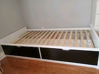 Single bed with 2 big built in drawers Toronto, M6N 3Y2