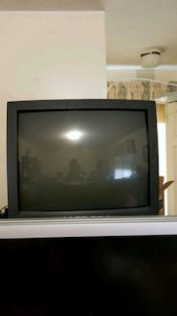 Sharp 27 inch CRT TV with universal remote