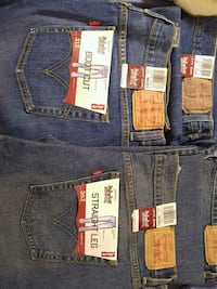 Brand new blue Levi's denim bottoms
