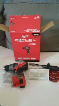 Milwaukee fuel drill new  Dale City, 22193