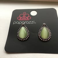 Green Moonstone Stud Earrings Ashburn, 20148