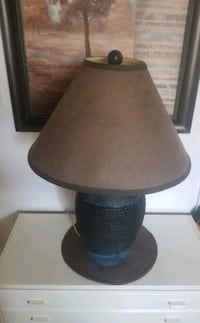 blue and brown table lamp  Montreal, H1N 1E9