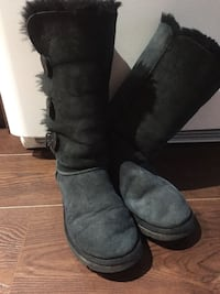Authentic UGG black tall boots Toronto