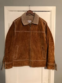 Suede jacket size medium great condition Washington, 20002