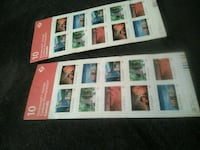 2 books of 10 stamps  1963 km