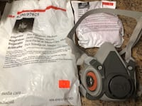 [TL_HIDDEN]  Half Face Mask Respirator with particulate filter NEW$20 Vancouver, V5R 5J4