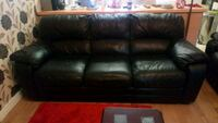 Leather 3 piece suite chateaux Italian leather.  Greater Manchester, M13 0WN