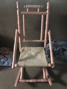 Late 1800 Eastlake Victorian Rocking Chair