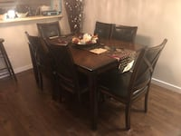 Solid Wood Dining Set (Table + 6 chairs) 3726 km