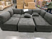 Sectional couch & ottoman Santa Maria, 93454