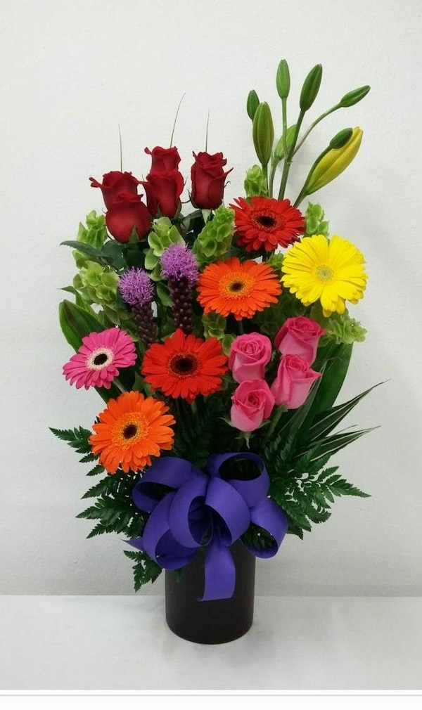 Red yellow blue and pink flower bouquet usado en venta en bay red yellow blue and pink flower bouquet mightylinksfo
