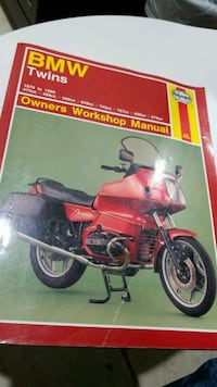 BMW Twins  Owners workshop manual In excellent condition Oxnard, 93036