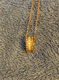 Rose Gold Plated necklace Frederick, 21701