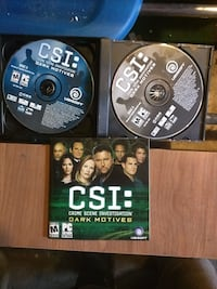 CSI Dark Motives PC CD-ROM