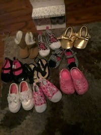 toddler's assorted shoes Jacksonville, 28540