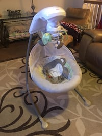 Fisher-Price Snugabunny Cradle 'n Swing with Smart Swing Technology Germantown, 20874