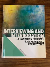 Interviewing & Interrogation Textbook Toronto, M8V