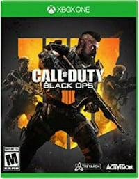 Xbox 360 Call of Duty Black Ops game case Boise, 83704