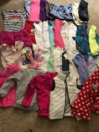 Clothes all size 5-6 everything for $45