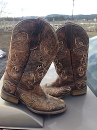 Circle G boots size 7 Rathdrum, 83858