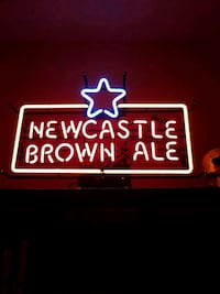 New Castle Brown Ale Neon Sign Mount Pleasant, 29466