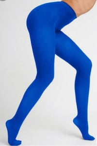 American Apparel Electric Blue Tights Size Small  Toronto, M5V
