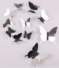 New in package MIRROR butterflies 3D for wall Vaughan, L4L 1S2