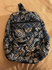 Black and white floral backpack Cranston, 02910