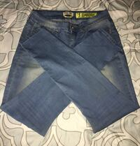 Women's skinny faded jeans size 5 Schaumburg, 60193