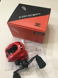 NEW 13 Fishing Concept Z baitcaster fishing reel