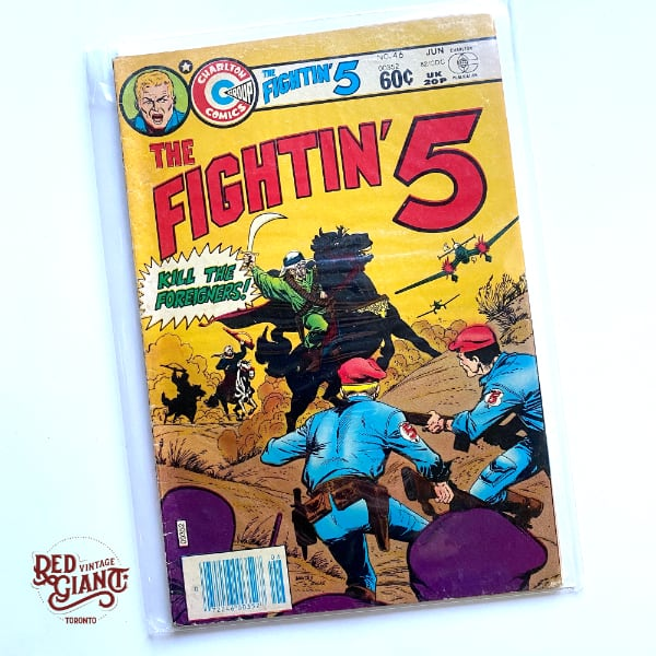 Fightin' 5 #46 Charlton 1982 Comic Book