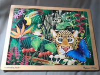 Melissa & Doug Puzzle - Has a small tear at top but tape can be placed over it Mays Landing, 08330