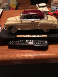 1950 gray Chevy Bel Air scale model Ajax, L1S 1X1