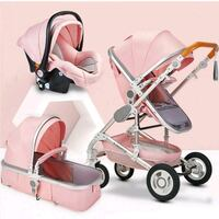 UST Baby Stroller 3 in 1 Pram with Travel Car Seat