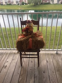 Fall decoration with chair $15 Greenwood, 46143