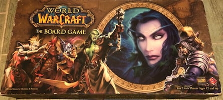 World of Warcraft Board game (kutu oyun).