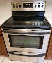 gray and black induction range oven Alton, 78573