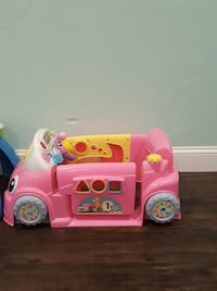 Pink Fisher price car for baby  Cumberland