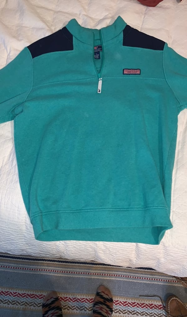 Vinyard Vines Quarter Zip (Size: Mens Small) 0