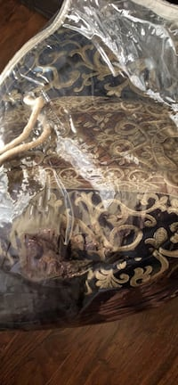 Brown and black floral textile Bethel Heights, 72764