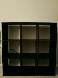 9 cube organizer shelf