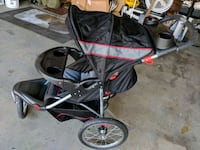 baby's black and red jogging stroller Shaw Air Force Base, 29152