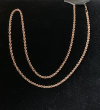 Gold Chain, 10K Rose Gold, See Description  Edmonton, T6H