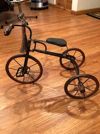 """Early 1900s Antique Tricycle Toy, very good condition for its age. 22"""" long 15"""" tall Oak Lawn, 60453"""