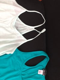 Wet Seal & Mudd Small & XSmall Racer Back Tank Tops -Greens East Providence