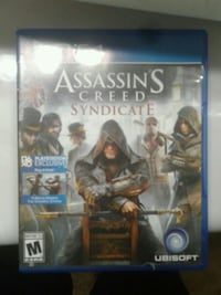 Assassin's Creed Syndicate PS4 game case El Paso, 79938