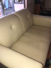 gray leather 2-seat sofa San Bernardino, 92410