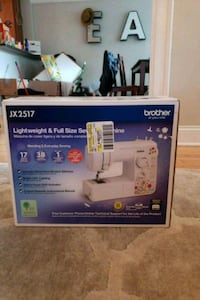 Sewing machine Brother jx2517 new never been used  Oak Park, 60302