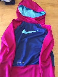 black and pink Nike pullover hoodie Commerce City, 80022